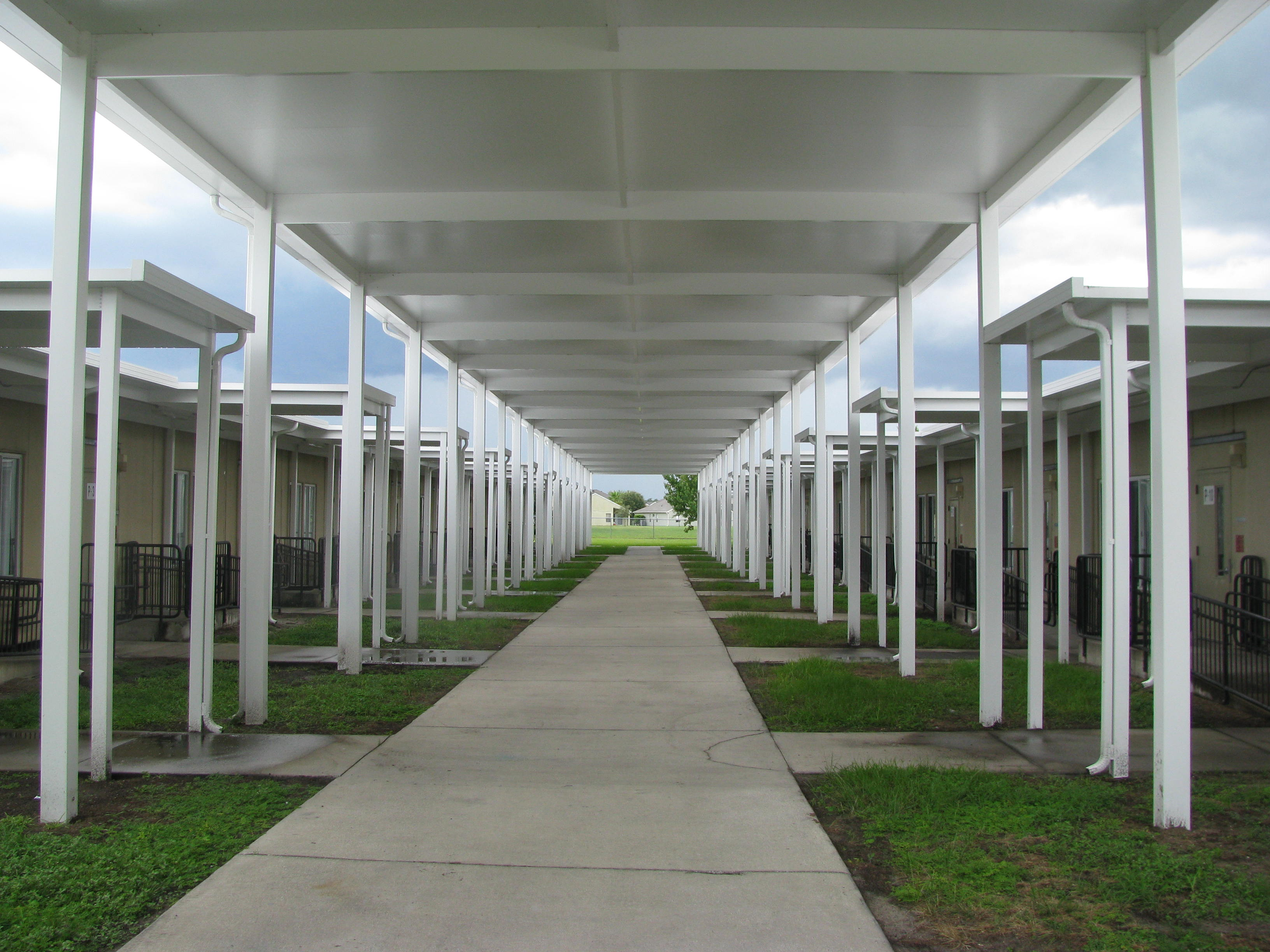 Commercial Walkway Cover