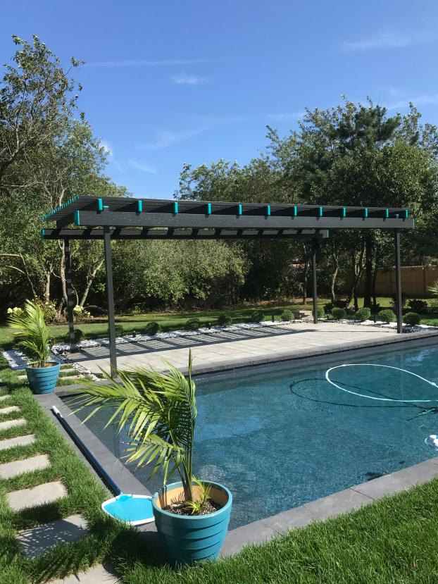 Freestanding Pergola By Pool