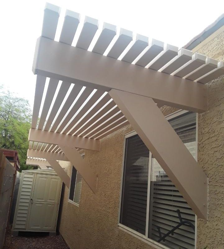 Lattice Awning, Client Project