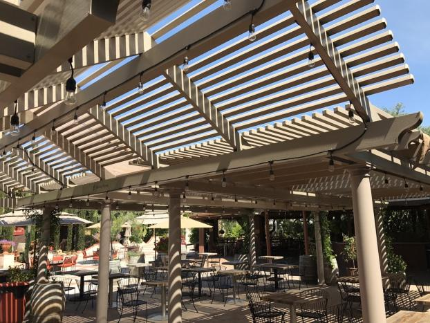 Lattice Patio Cover